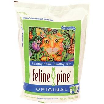 Feline Pine Original Cat Litter 7 Lb