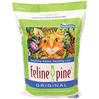 Feline Pine Original Cat Litter 20 Lb