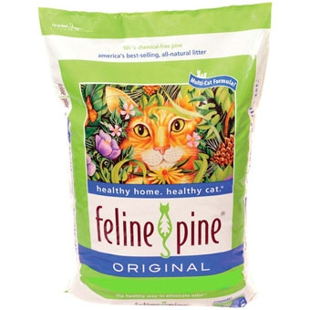 Feline Pine Original Cat Litter 40 Lb