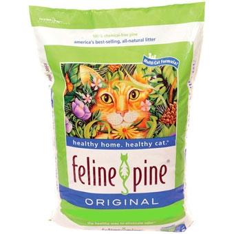 Feline Pine Original Cat Litter 40 Lb