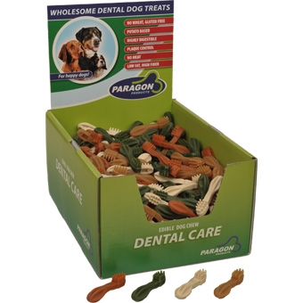 Paragon Dental Dog Treats Xsmall Toothbrush