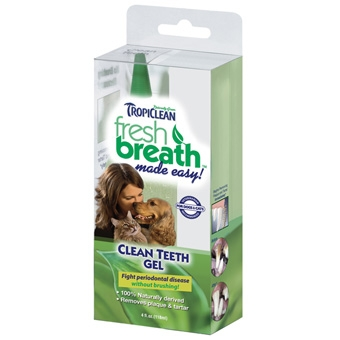 Tropiclean Fresh Breath Clean Teeth Gel 4oz