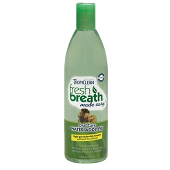 Tropiclean Fresh Breath Oral Care Water Additive 16oz