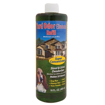 Naturvet Yard Odor Eliminator Stool & Urine Deodorizer Concentrate 16oz