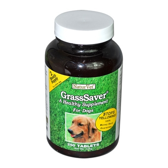 Naturvet Grasssaver Tablets For Dogs 250ct