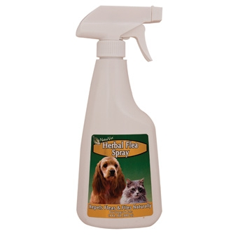 Naturvet Herbal Flea Spray For Dogs & Cats 16oz
