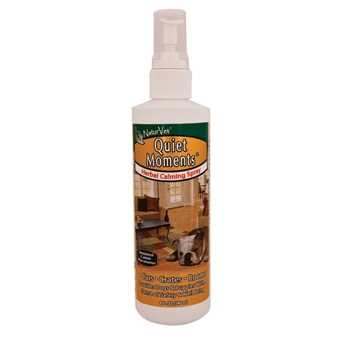 Naturvet Quiet Moments Herbal Calming Spray For Dogs 8oz