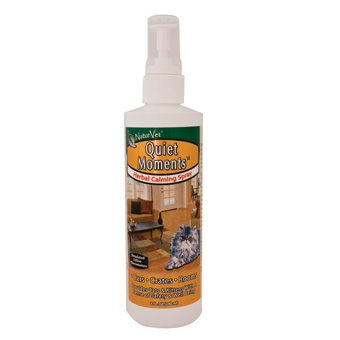 Naturvet Quiet Moments Herbal Calming Spray For Cats 8oz