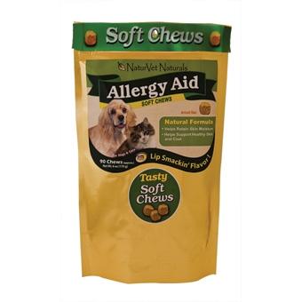 Naturvet Naturals Soft Chews Allergy Aid 90ct