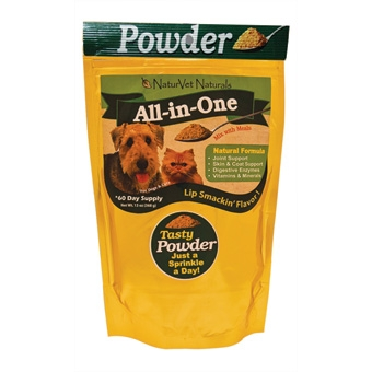Naturvet Naturals All-in-one Powder 60 Day Supply 13oz