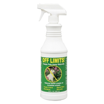 Off Limits! Keeps Pets Away Naturally Ready To Use Spray 32oz