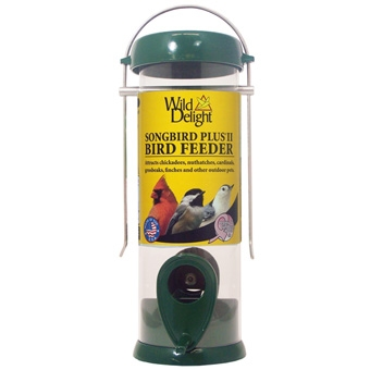 Wild Delight Songbird Plus Ii Bird Feeder Small Green