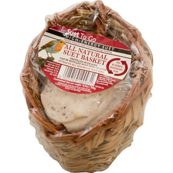 Unipet Suet To Go High - Energy Suet All Natural Suet Basket 10.56 Oz