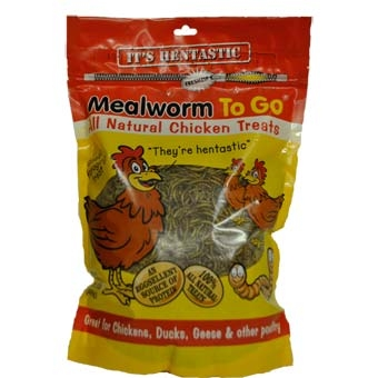 Unipet Hentastic Mealworm To Go Chicken Treat 1.1 Lb