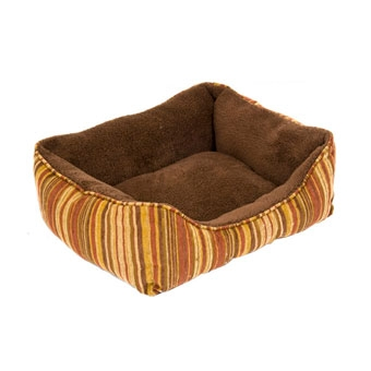 Aspen Pet Rectangular Plush Lounger 17in X 20in