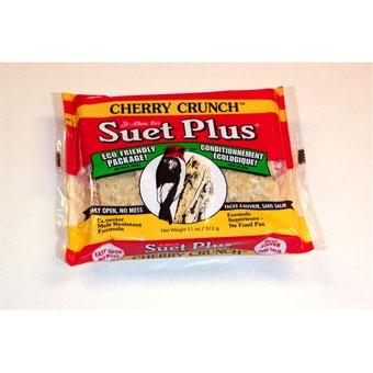 Suet Plus Cherry Crunch Suet Cake 11 Oz