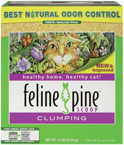 Arm & Hammer Feline Pine Clumping Litter 14 Lbs