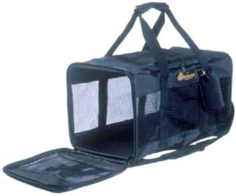 Soft Sided Pet Taxi Black