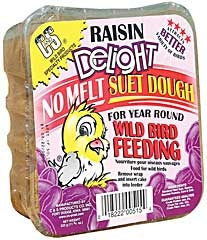 C And S Raisin Delight No Melt Suet 11.75oz