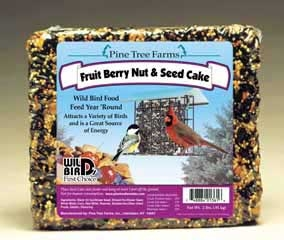 Fruit Berry Nut Seed Cake 2.5lb