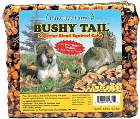 Bushy Tail Squirrel Block 2.5lb