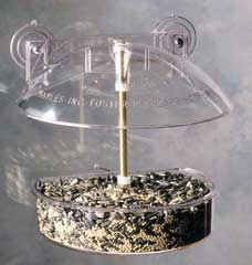 Droll Yankees Window Birdfeeder