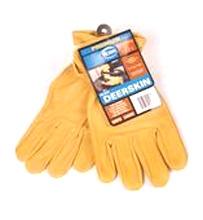 Premium Grain Deerskin Glove Large