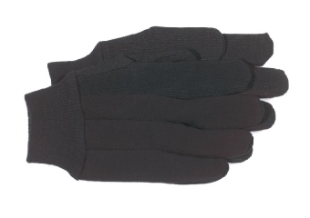 Plastic Dot Jersey Glove