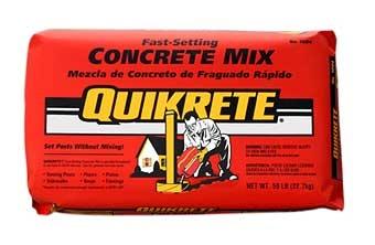 Quikrete Fast Set Concrete 50lb