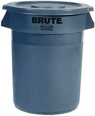 Brute Combo Container With Lid 32 Gallon