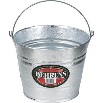 Behrens Hot Dipped Pail 8 Qt