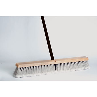 Dqb Floor Sweep Stiff/fine Push Broom 18in