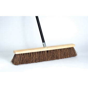 Dqb Garage Sweep Stiff Palmyra Push Broom 24in