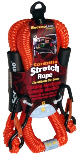 Cordzilla Bungee Cord 5ft With Hook Orange
