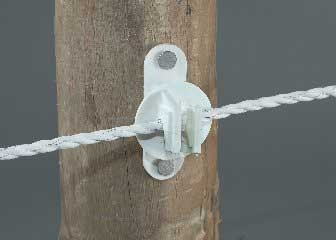 Post Insulator White