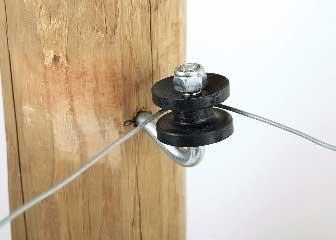 Hi-tensile Corner Insulator