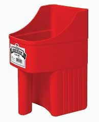 Enclosed Feed Scoop 3qt Red