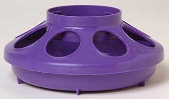 Purple Plastic Feeder Base 1qt