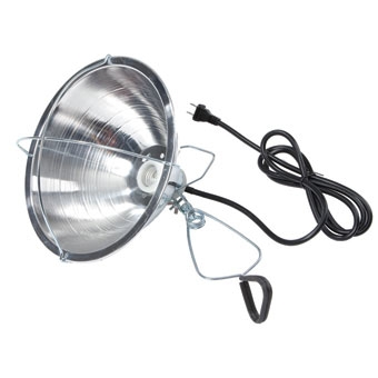 Miller Mfg Brooder Reflector Lamp With Clamp 10.5in