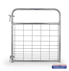 Galvanized Wire Filled Tube Gate 4ft