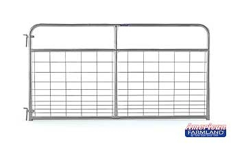 Galvanized Wire Filled Tube Gate 8ft