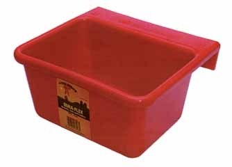 Red Mini Feeder 6qt