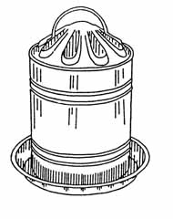 Poultry Fountain Waterer 2gal