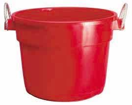 Duraflex  Bushel Muck Tub Red 70 Qt