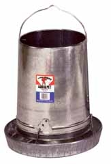 Galvanized Hanging Feeder 30lb