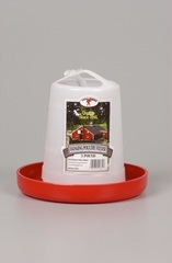Hanging Plastic Poultry Feeder 3lb