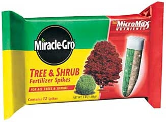Miracle Gro Tree And Shrub Spikes