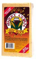 Sweet Corn Salt Block 4lb