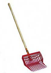 Durapitch Bedding Fork Red