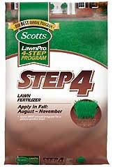 Scotts Lawn Pro Step 4 Lawn Fertilizer 5m